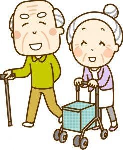 移住先で微笑む高齢者夫婦