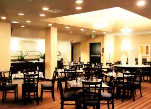 高齢者移住施設CCRC内のレストラン