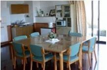都市型軽費老人ホームなぎさ和楽園の食堂写真