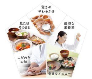 高齢者の介護職に対応した配食サービス